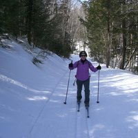 Cross-Country Skiing in Jackson, NH, March 2012